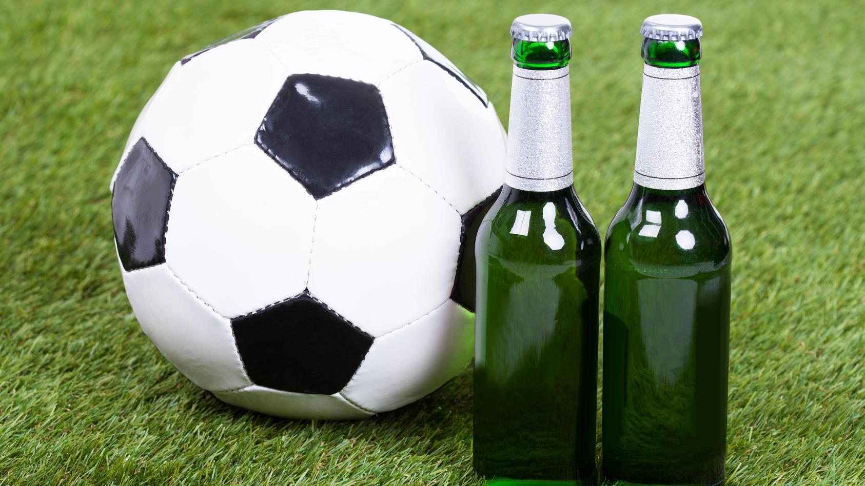 Alkoholmissbrauch im Fußball