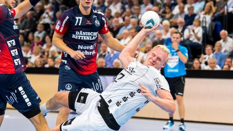 Der Kieler Patrick Wiencek wird den deutschen Handballern in Kroatien fehlen. Foto: Benjamin Nolte/dpa