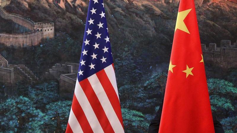 China will neue Strafzölle auf US-Exporte erheben. Über den Antrag berät der WTO-Streitschlichtungsausschuss am 28. Oktober. Foto: Feng Li/GETTY IMAGES/POOL/EPA/dpa