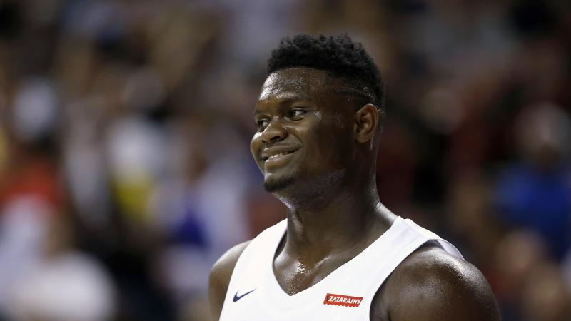Das NBA-Debüt von Zion Williamson verzögert sich. Foto: Steve Marcus/AP/dpa