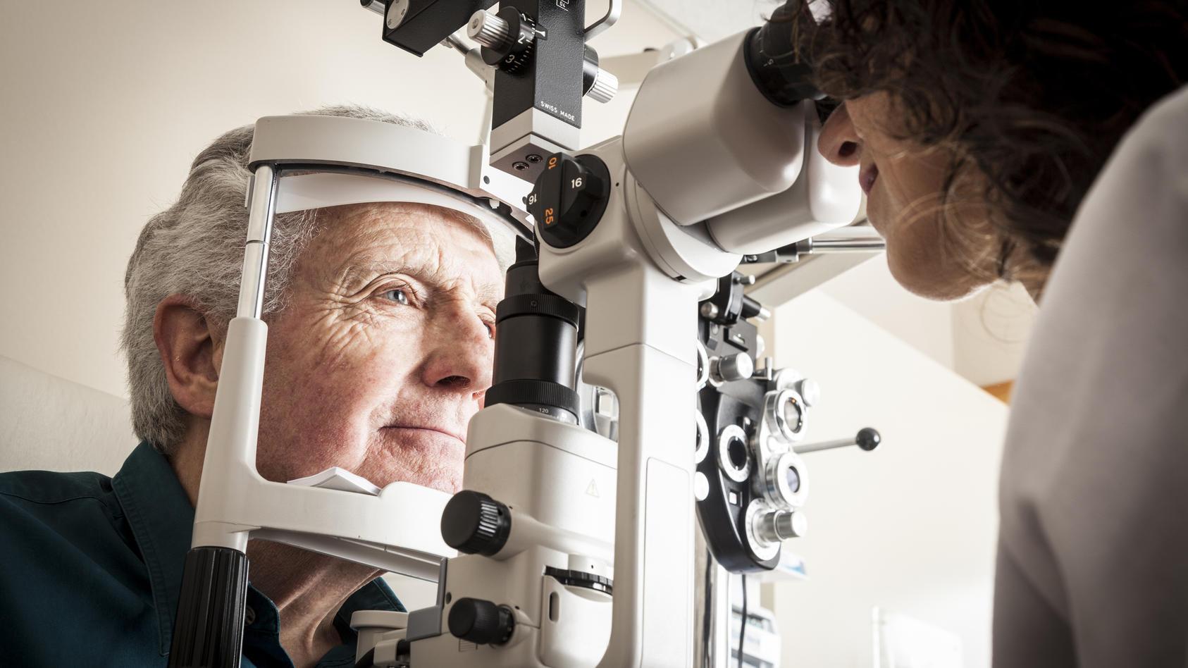 Die Makuladegeneration ist in Deutschland die häufigste Ursache von Erblindungen im Erwachsenenalter