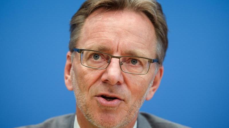 Holger Münch, Präsident des Bundeskriminalamtes. Foto: Gregor Fischer/dpa/Archivbild