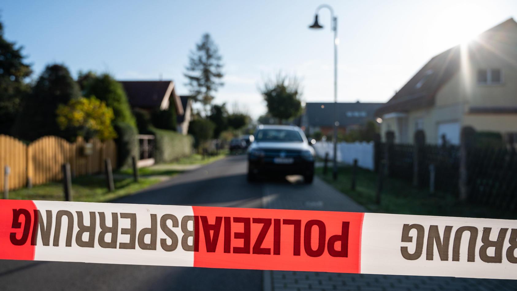Frau stirbt nach Gewaltverbrechen in Teltow