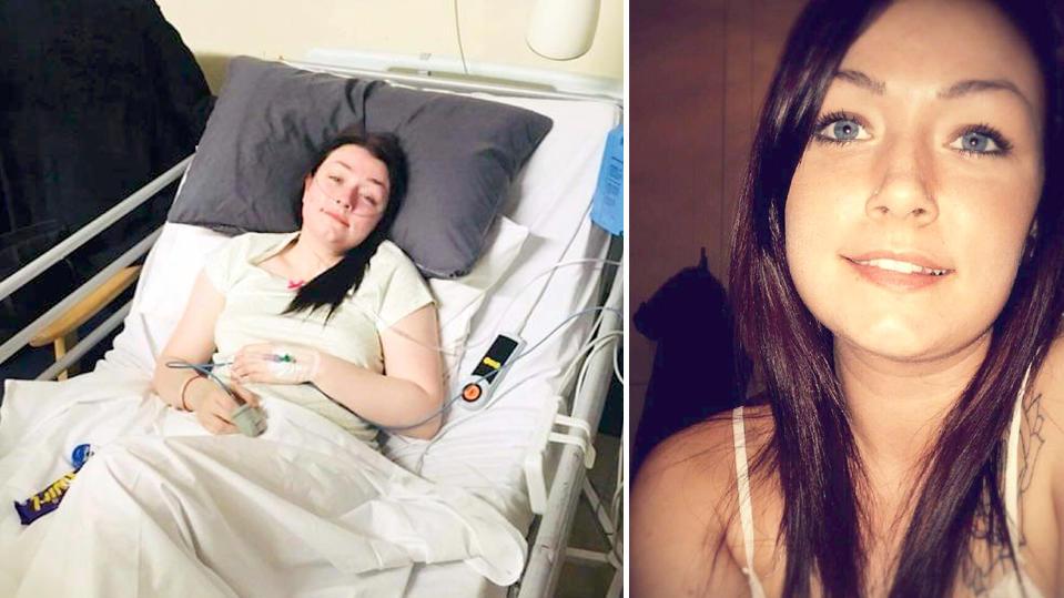Chantelle Urquhart entschied sich wegen ihrer Endometriose für künstliche Wechseljahre.