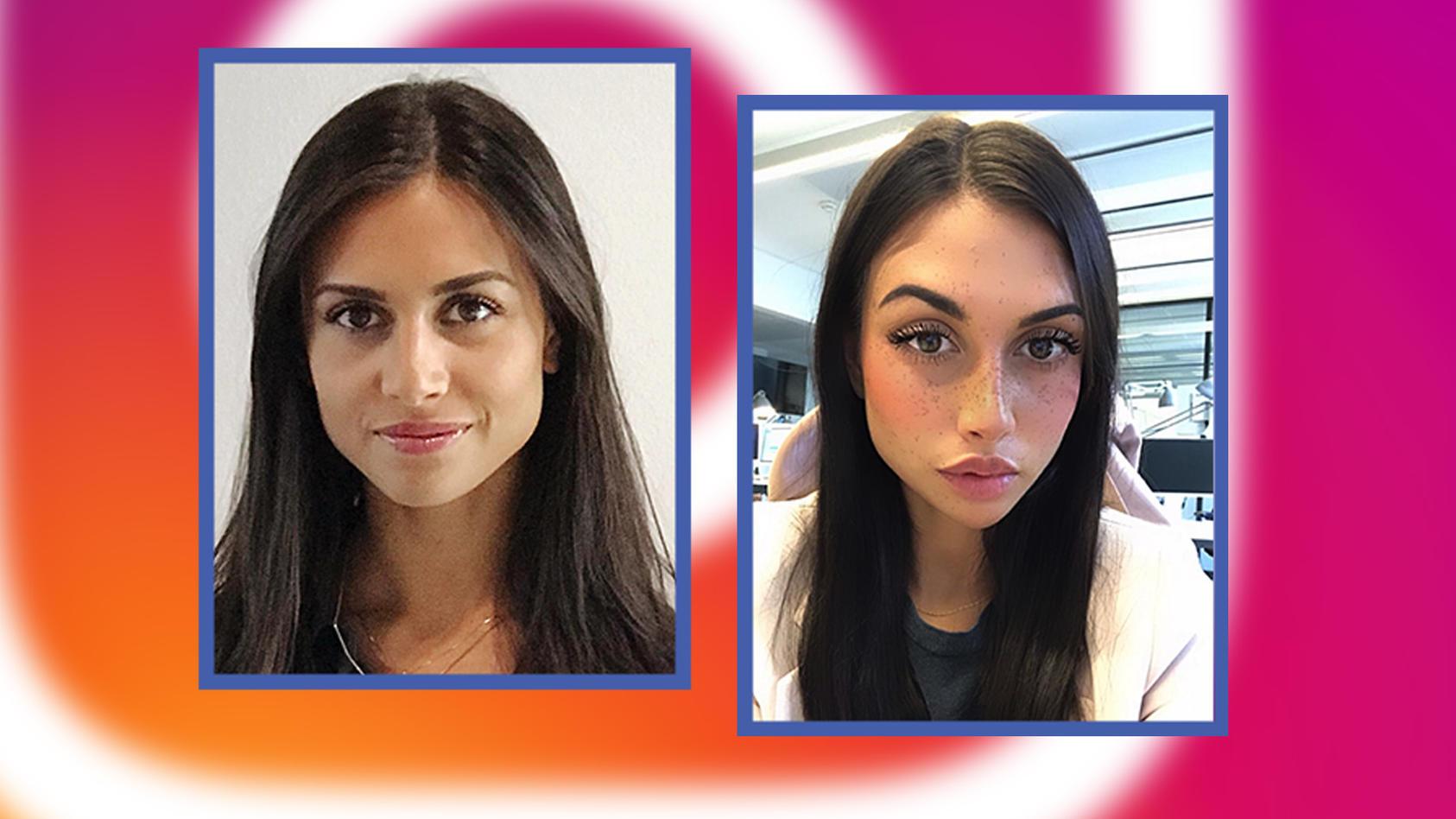 Mit Filtern können wir unsere Gesichter mittlerweile gehörig verändern.