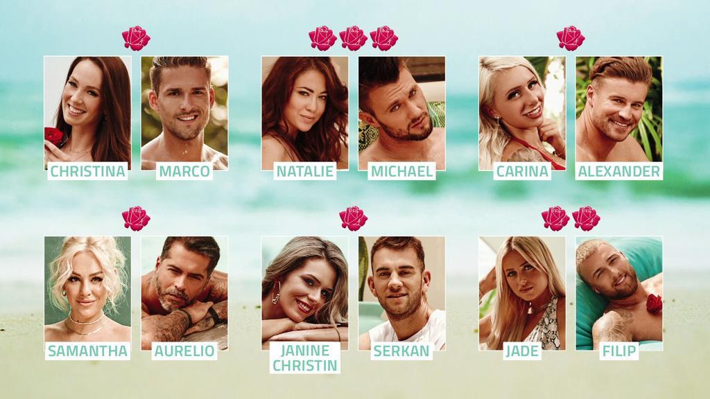 """Die dritte """"Nacht der Rosen"""" bei """"Bachelor in Paradise"""""""