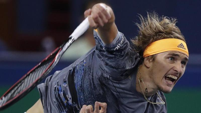 Alexander Zverev ist für die ATP Finals qualifiziert. Foto: Andy Wong/AP/dpa