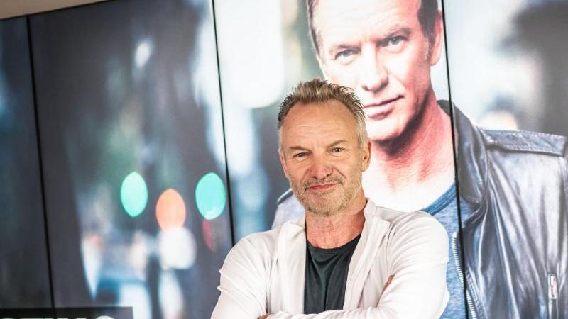 Rockstar Sting wird für sein Lebenswerk ausgezeichnet. Foto: Frank Rumpenhorst/dpa