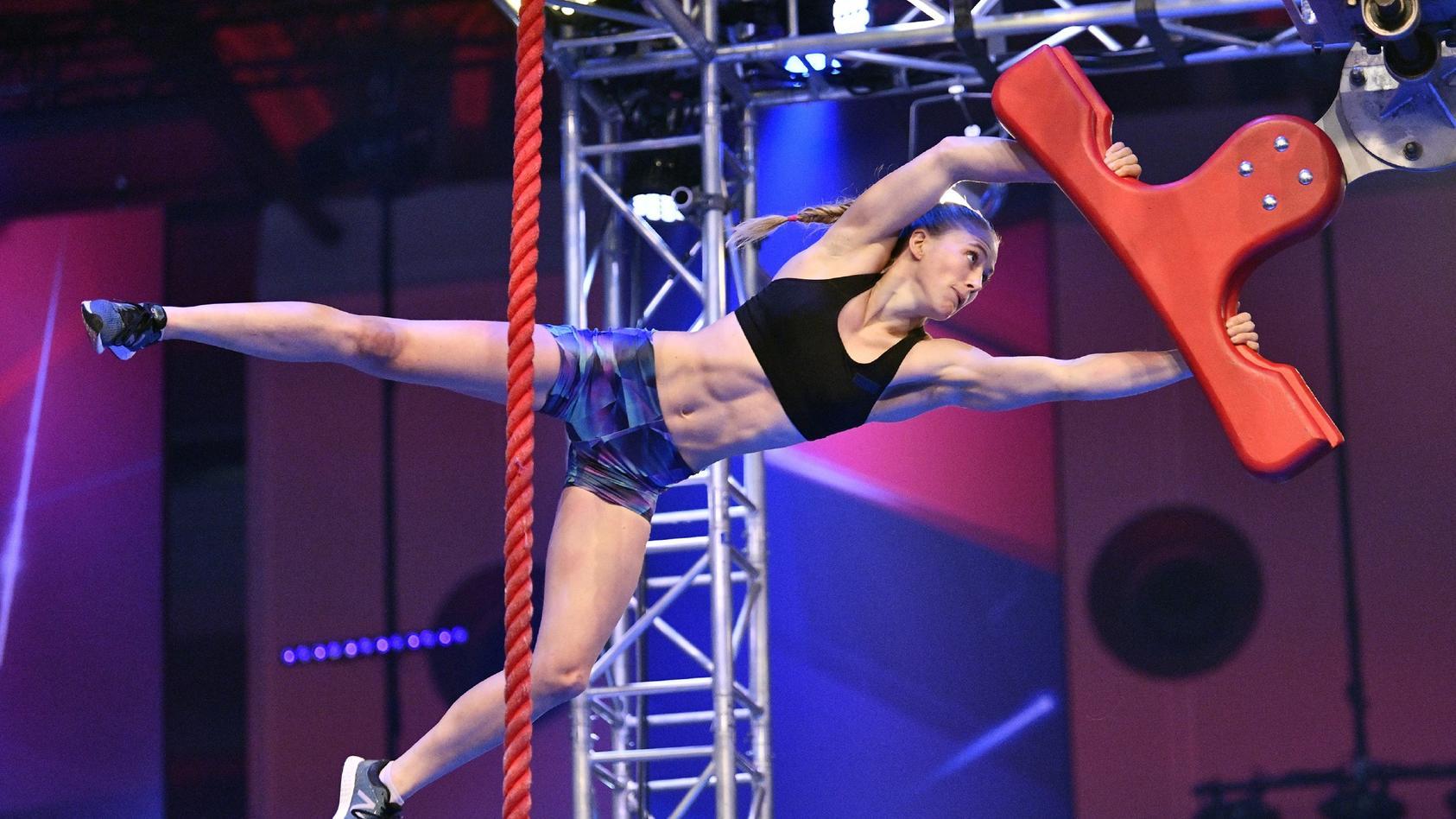 """Stefanie Noppinger ist eine der 27 Finalisten bei """"Ninja Warrior Germany""""."""