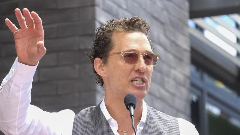 Schauspieler Matthew McConaughey hat jetzt einen Instagram-Account. Foto: Ringo Chiu/ZUMA Wire/dpa