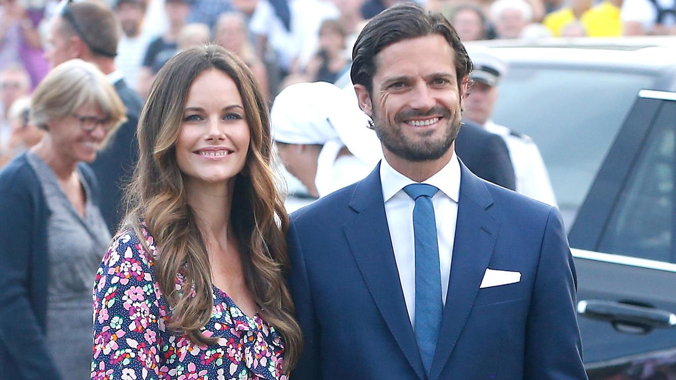 Prinzessin Sofia und Prinz Carl Philip von Schweden haben dem schwedischen Fernsehen ein Interview gegeben.