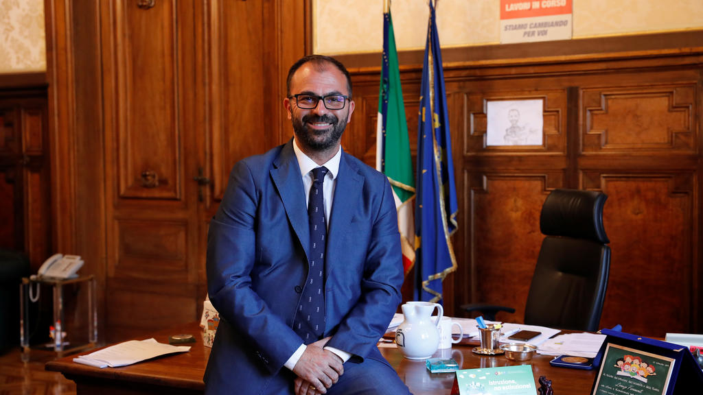 Italienischer Bildungsminister Lorenzo Fioramonti