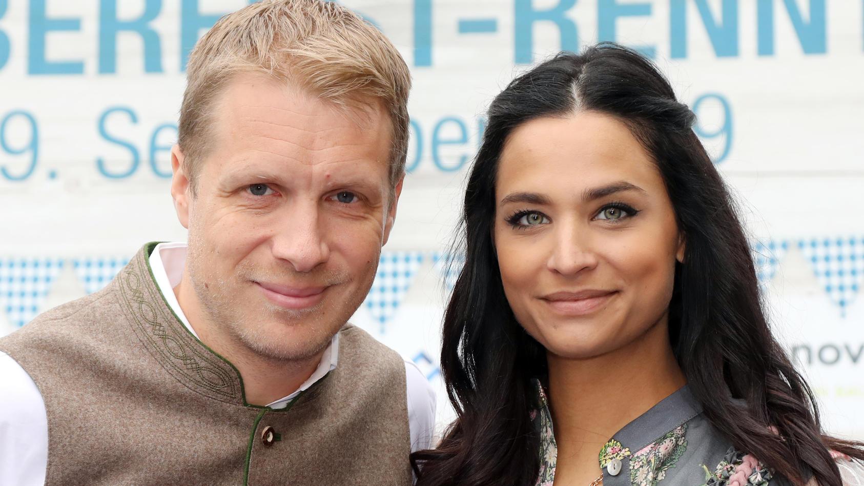 """In der neuen Late-Night-Show """"Pocher - gefährlich ehrlich"""" auf RTL moderiert Komiker Oliver Pocher erstmals mit seiner Frau Amira Pocher."""
