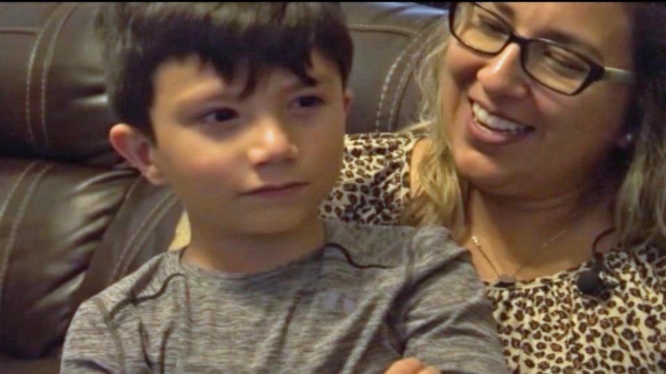 Benjamin mit Marciela Torres