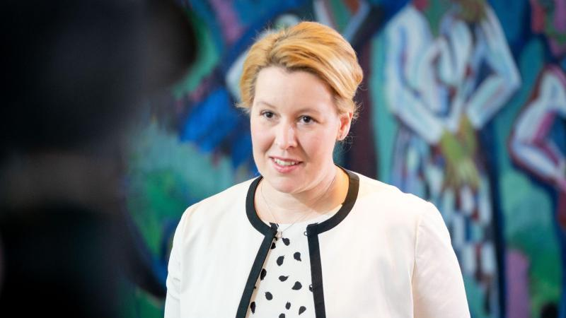 Franziska Giffey (SPD), Bundesministerin für Familie, Senioren, Frauen und Jugend. Foto: Kay Nietfeld/dpa