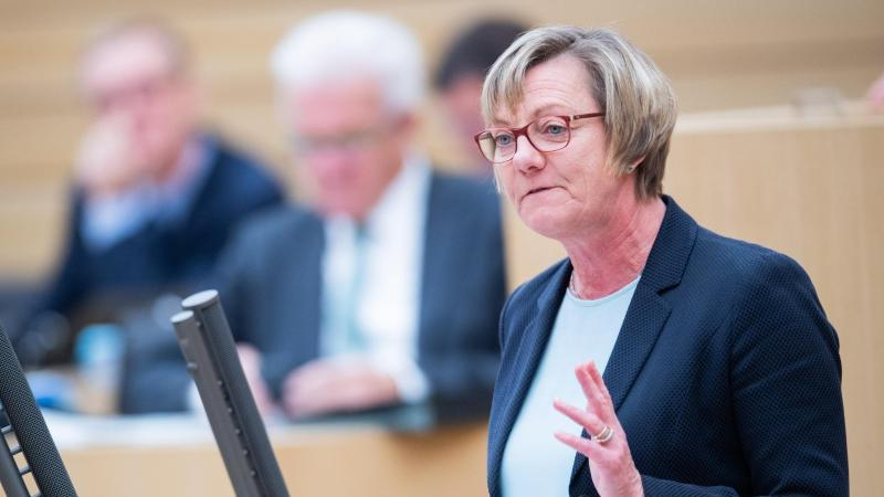 Edith Sitzmann (Bündnis 90/Die Grünen), Finanzministerin von Baden-Württemberg. Foto: Tom Weller/dpa/Archivbild