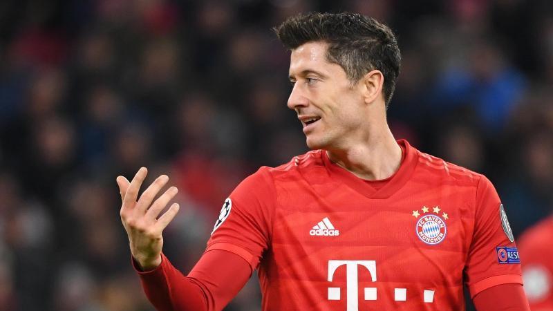 Bayern Münchens Torjäger Robert Lewandowski. Foto: Sven Hoppe/dpa