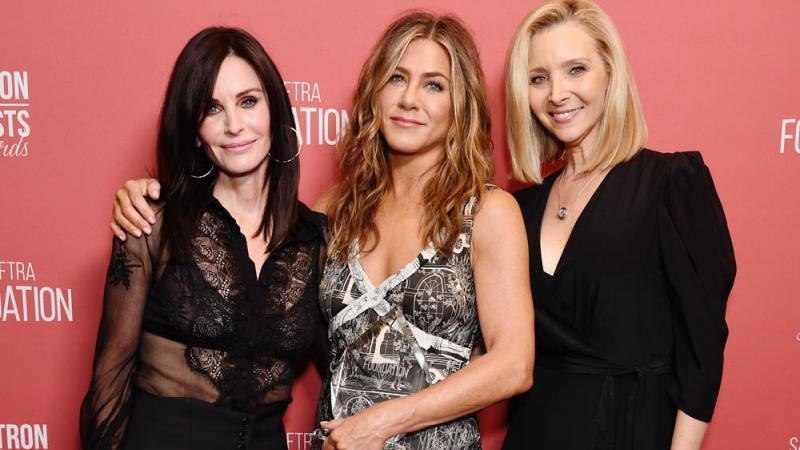 Courteney Cox, Jennifer Aniston und Lisa Kudrow
