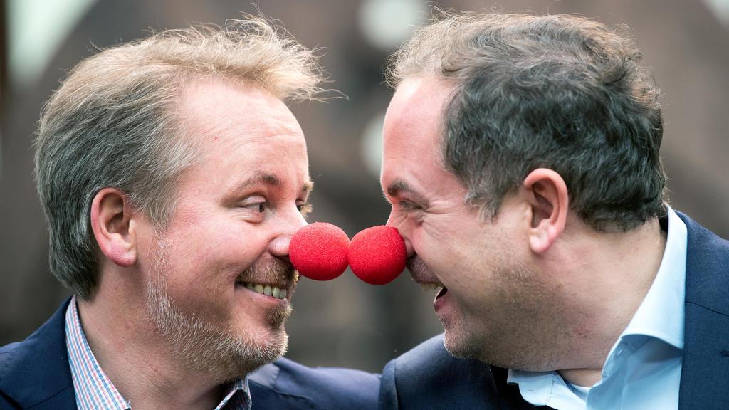 Das schwule Prinzenpaar des Mönchengladbacher Karnevals.