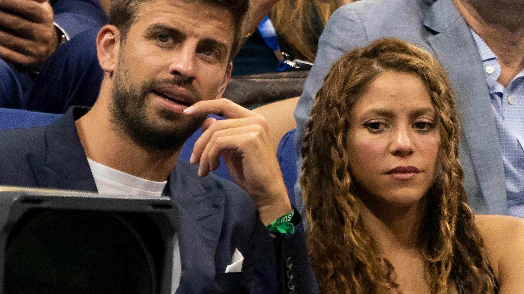 Gerard Piqué und Shakira bei den US Open 2019