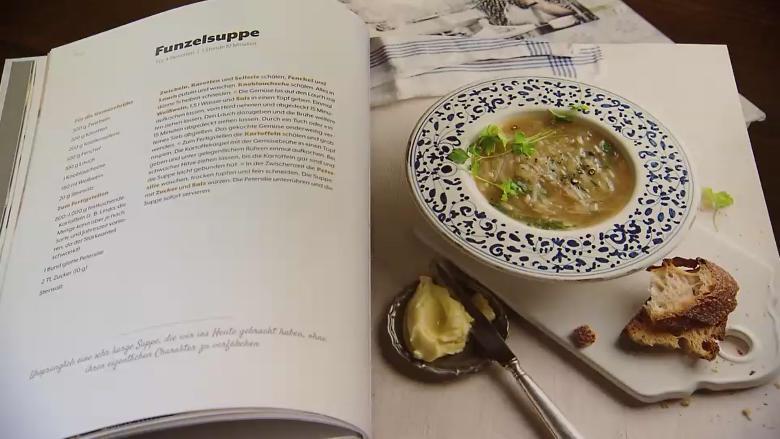 """Funzelsuppe Rezept Buch """"Unser Kulinarisches Erbe"""""""