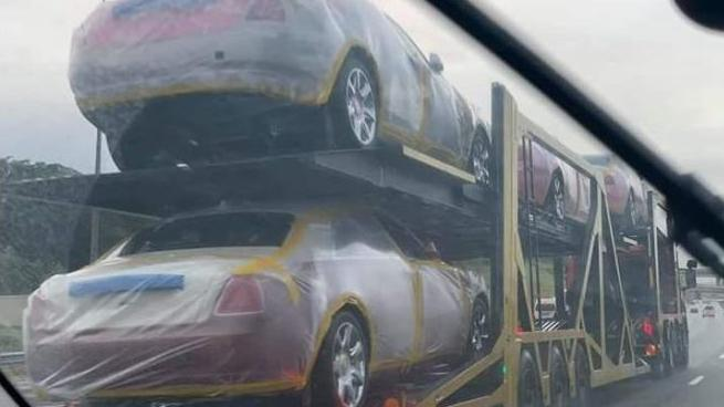 Diese Rolls Royce ließ sich König Mswati III. von Swasiland liefern.