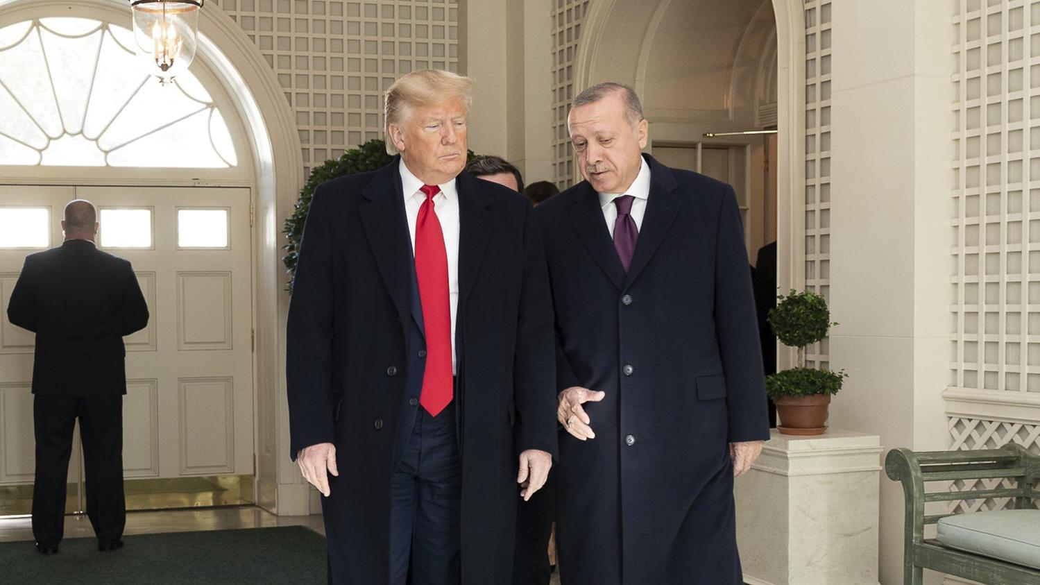 Ein Herz und eine Seele? Donalt Trump und Recep Tayyip Erdogan in Washington.