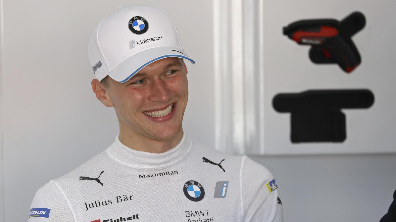Maximilian Günther (D), BMW i Andretti Autosport Formel E Test 2019 *** Maximilian Günther D , BMW i Andretti Autosport