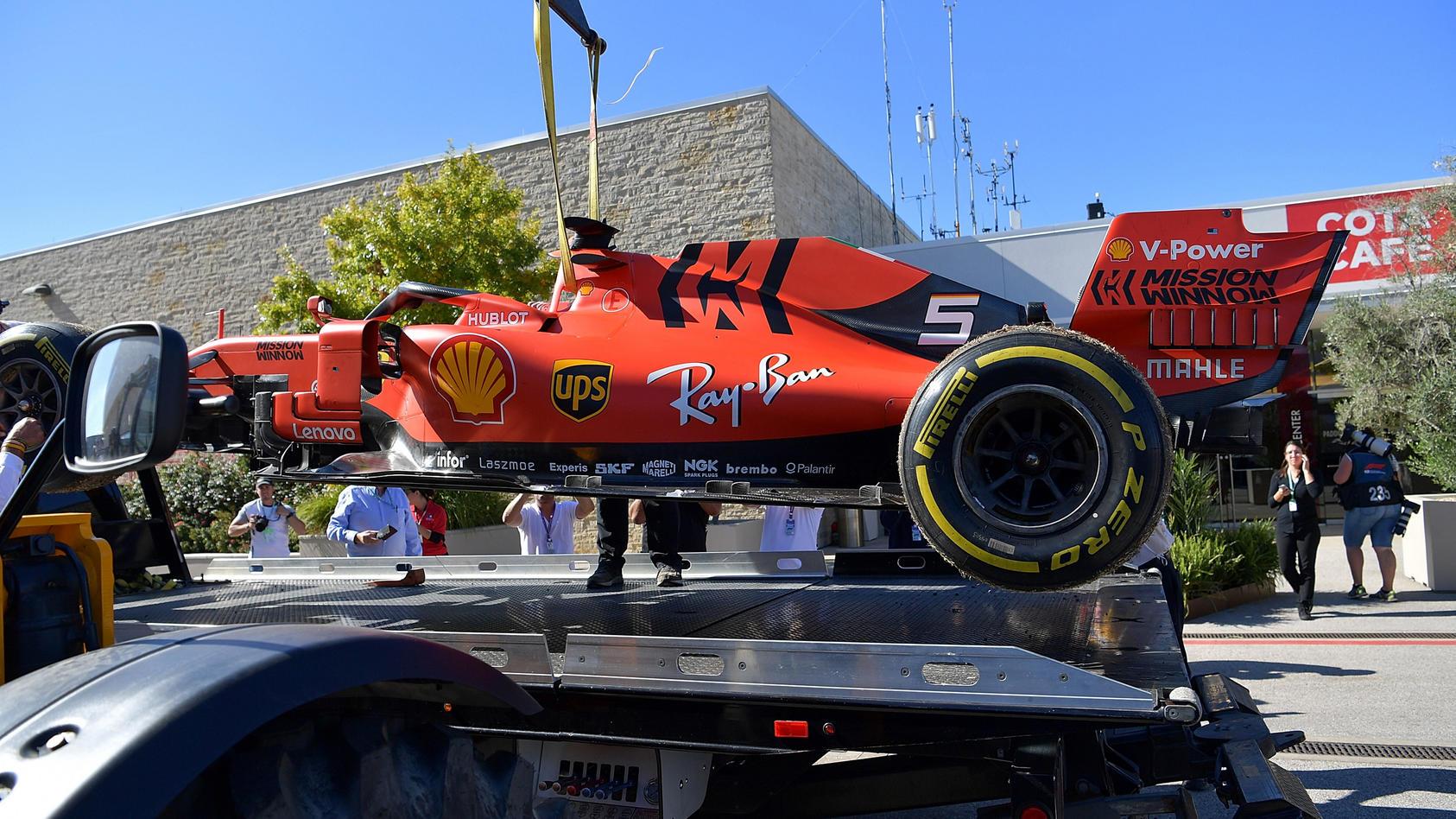 Vettel in Austin am Haken