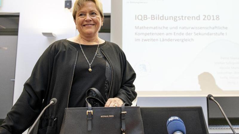 CDU-Spitzenkandidatin für die baden-württembergische Landtagswahl, Susanne Eisenmann. Foto: Fabian Sommer/dpa