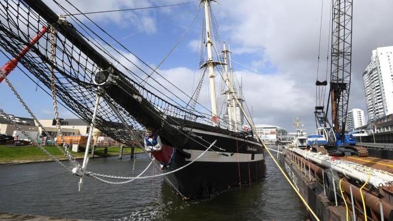 """Das historische Segelschiff """"Seute Deern"""". Foto: Carmen Jaspersen/Archiv"""
