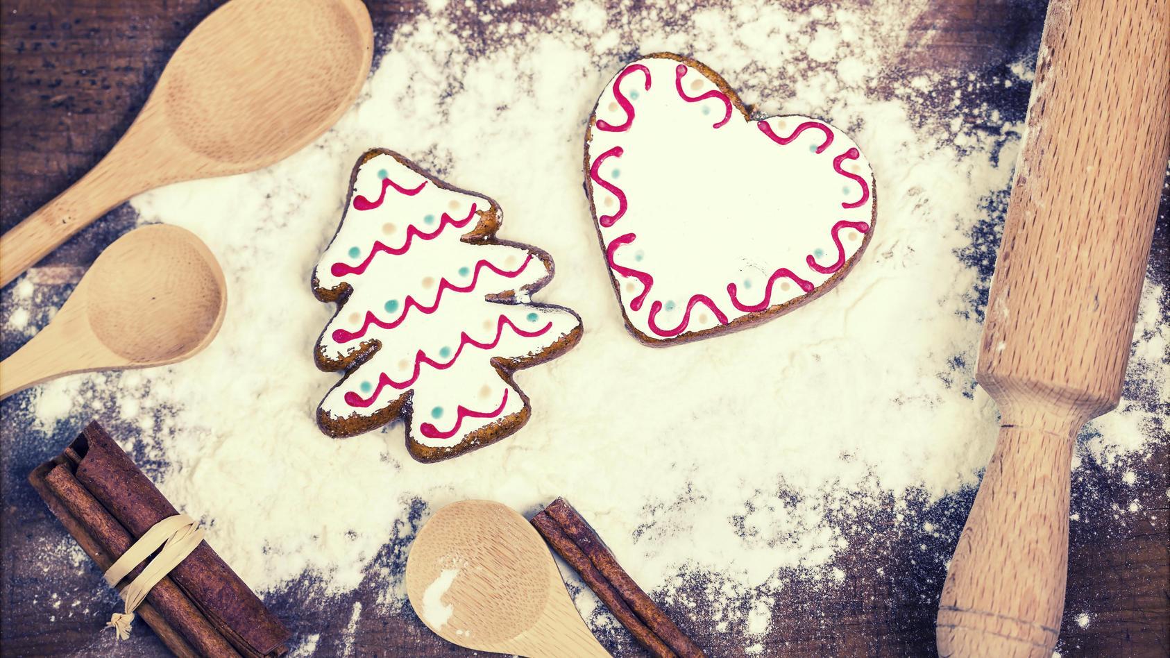 Weihnachten: Plätzchen backen macht Spaß und das Resultat ist ganz schön lecker!