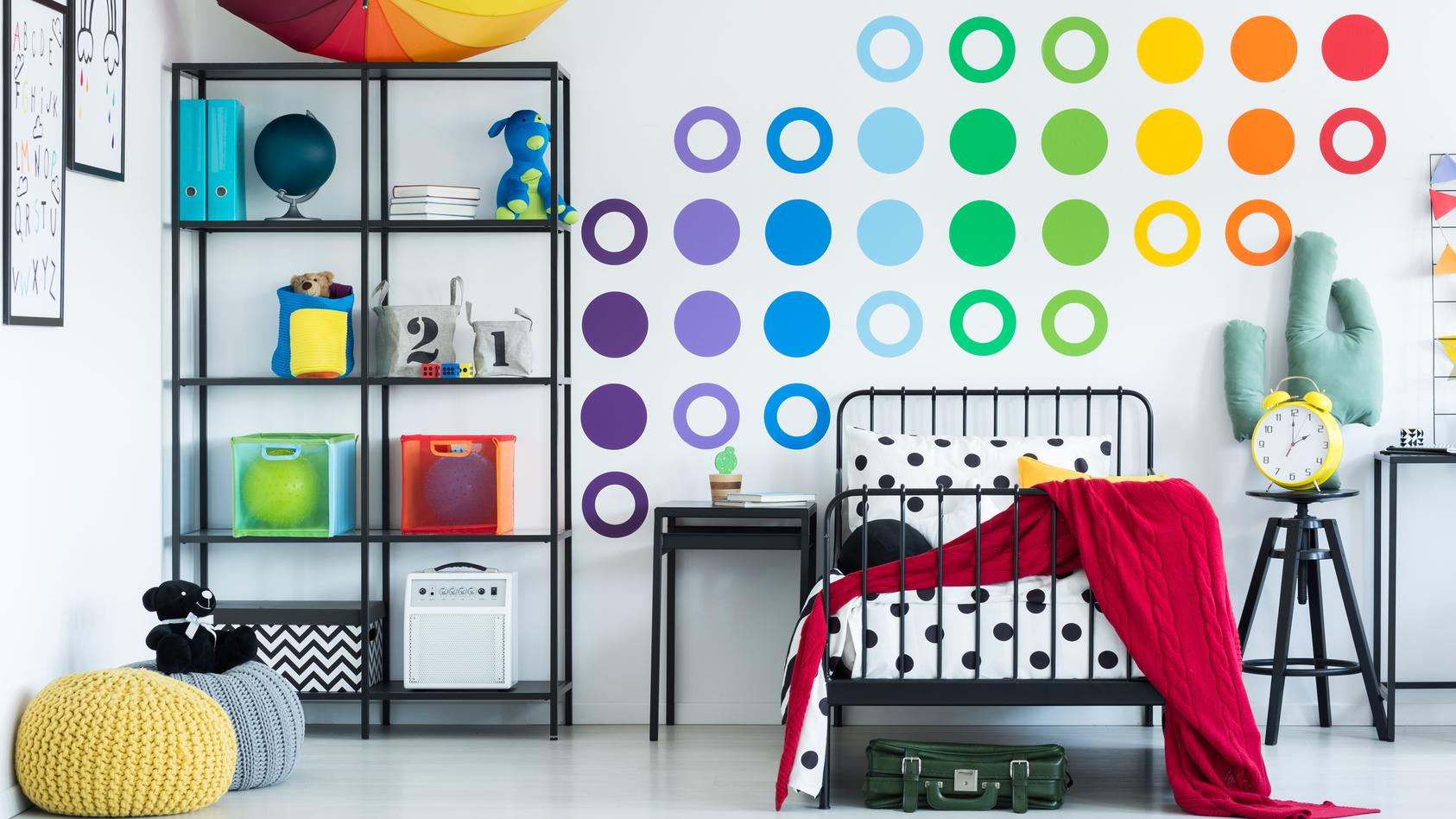 Wandtattoos peppen jedes Zimmer auf.