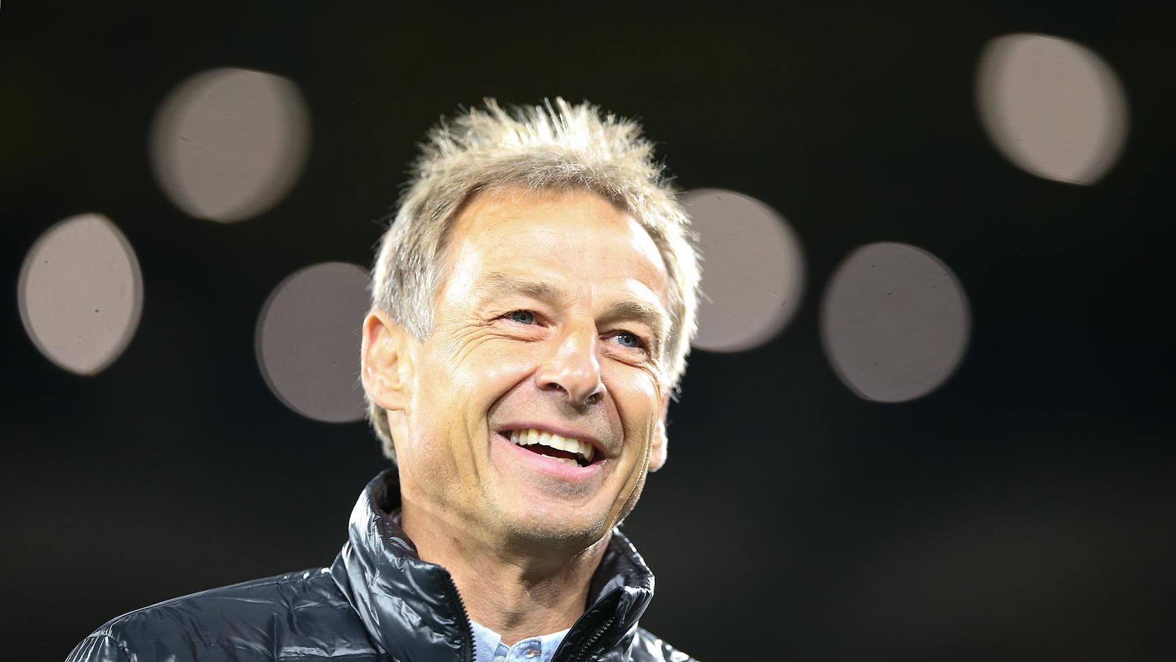 09.10.2019, Fussball, Länderspiel, Deutschland - Argentinien, im Signal Iduna Park Dortmund. Jürgen Klinsmann ***DFL and
