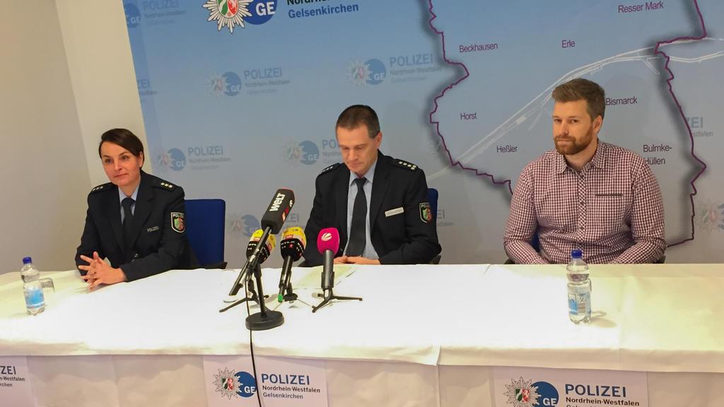 Pressekonferenz nach angeblichem Angriff mit Spritze