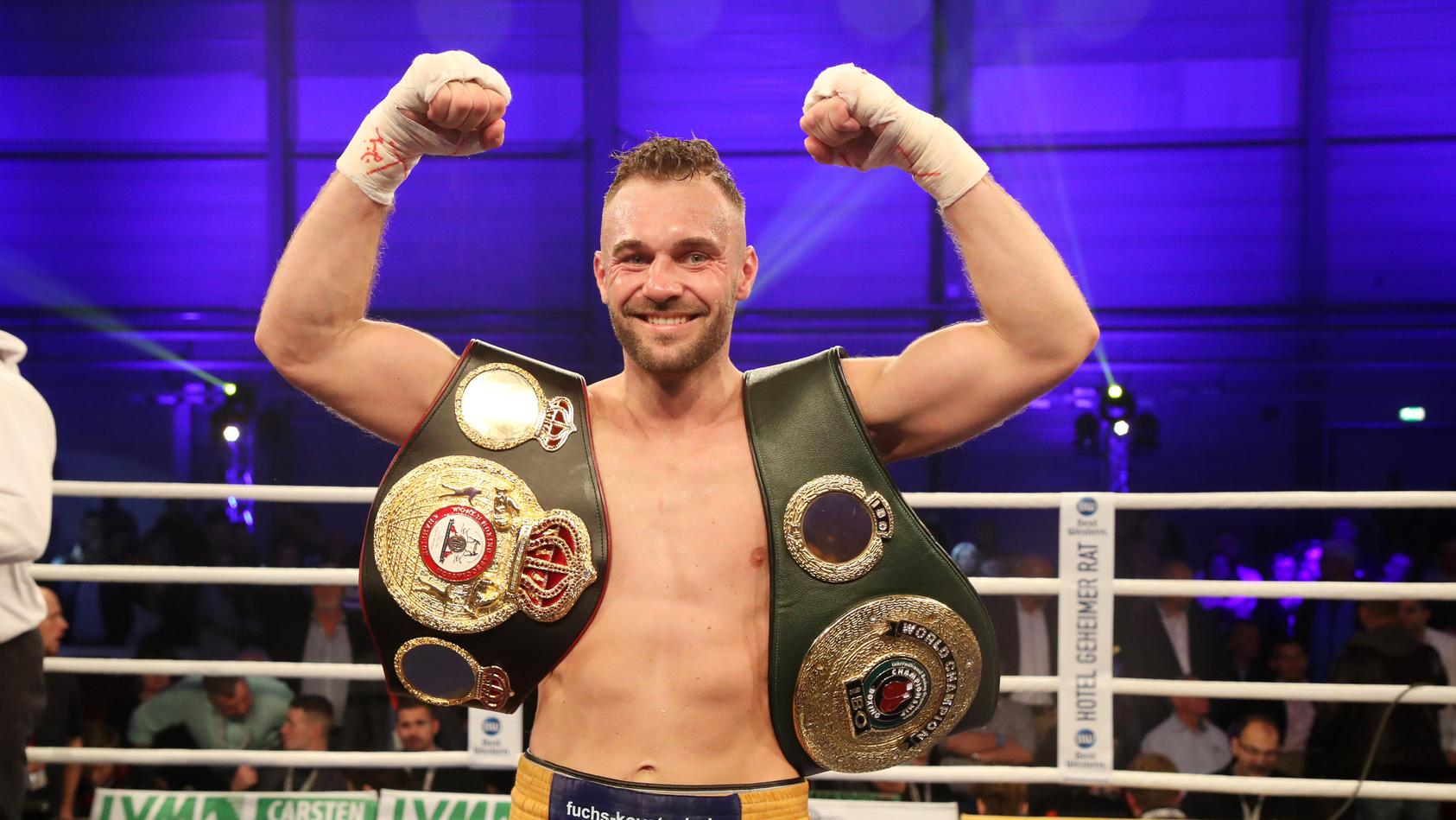Boxer Dominic Bosel Besiegt Sven Fornling Und Ist Neuer Interims Weltmeister Im Halbschwergewicht