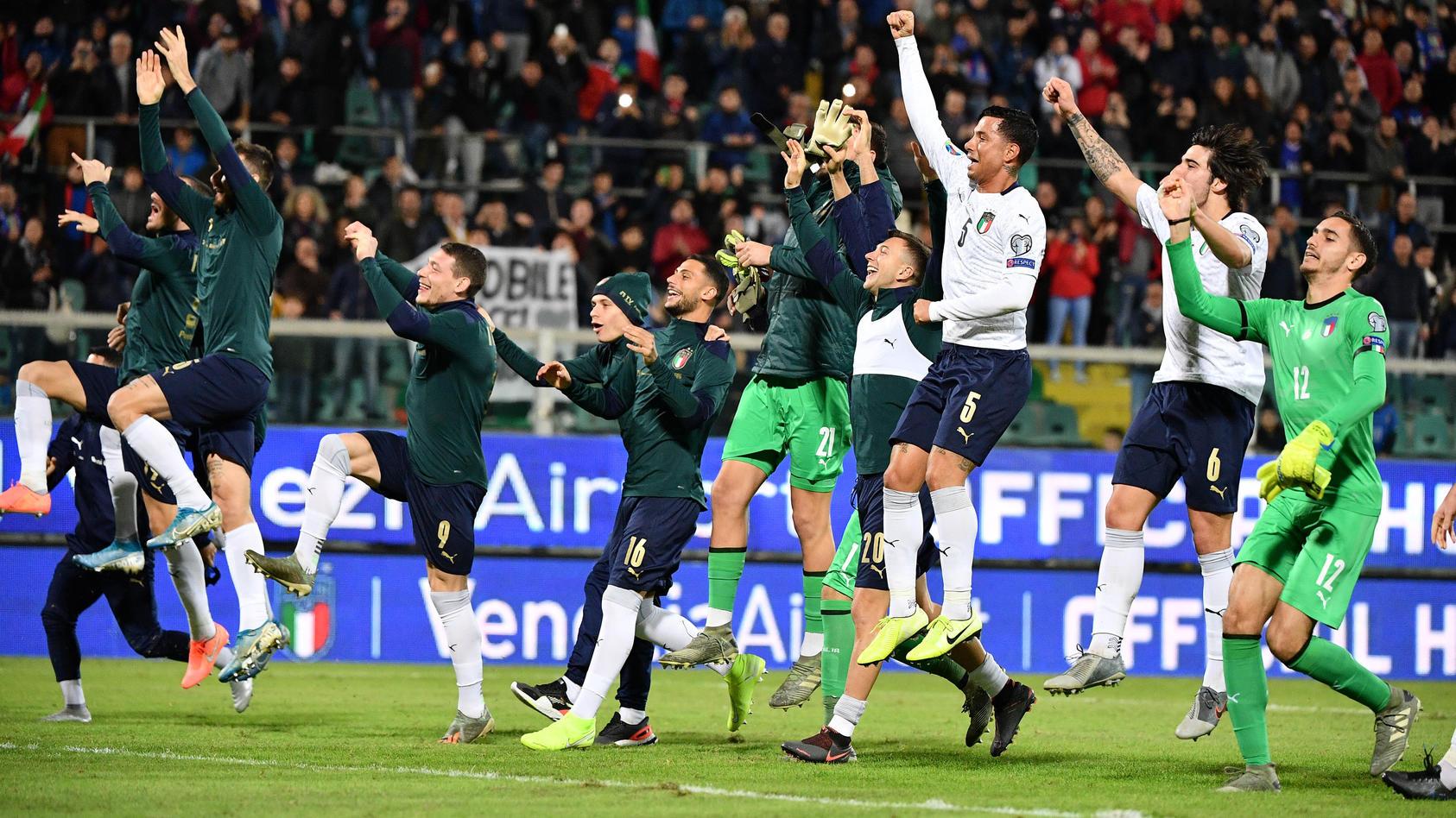 Photo Alfredo Falcone - LaPresse18/11/2019 Palermo (Italy SoccerItalia - ArmeniaEuro 2020 qualifications - Renzo Barbera