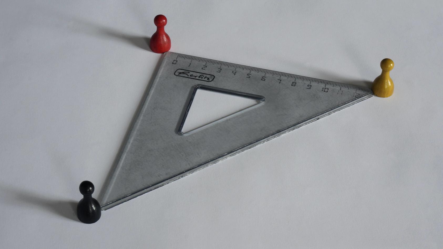 Symbolbild Dreiecksbeziehung
