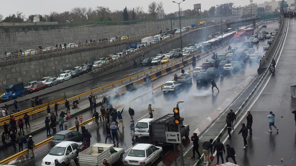 Proteste gegen höhere Benzinpreise im Iran