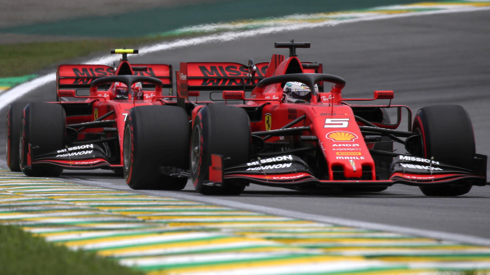 FILE PHOTO: Formula One F1 - Brazilian Grand Prix - Practice