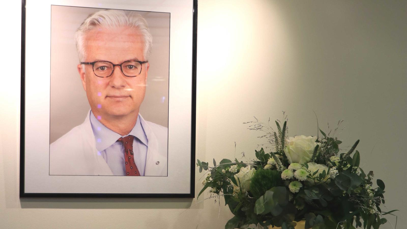 Die Schlosspark-Klinik gedenkt ihrem ehemaligen Kollegen Fritz von Weizsäcker.