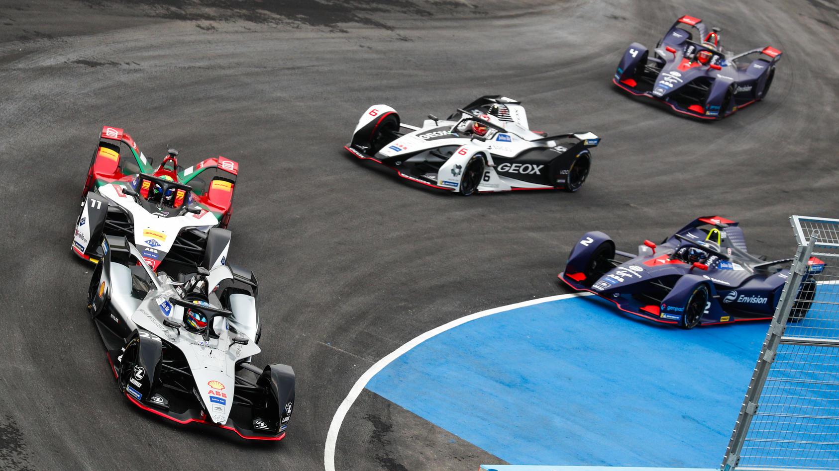 Die Elektroserie Formel E startet in die neue Saison.