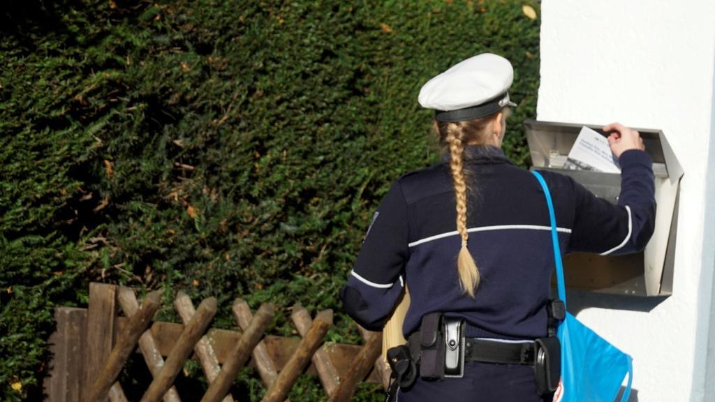 Polizei informiert über DNA-Massentest