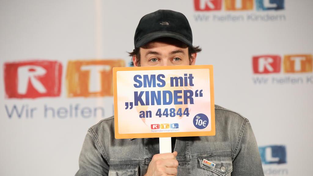 Jan Köppen beim 24. RTL-Spendenmarathon