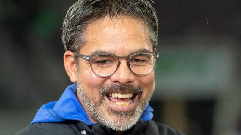 Schalke-Trainer David Wagner. Foto: Stefan Puchner/dpa/Archivbild