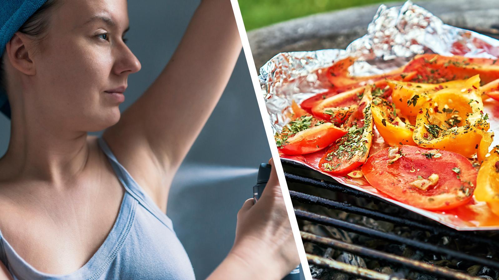 In Deos, Lebensmittel und Co. steckt Aluminium. Dadurch nehmen wir meist mehr davon auf, als wir sollten.