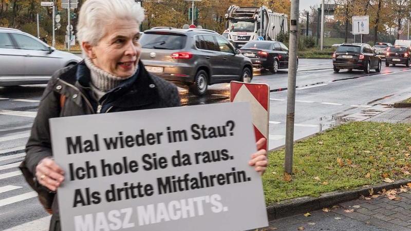 Marie-Agnes Strack-Zimmermann beim Wahlkampf. Foto: Max Schade/FDP Fraktion/dpa