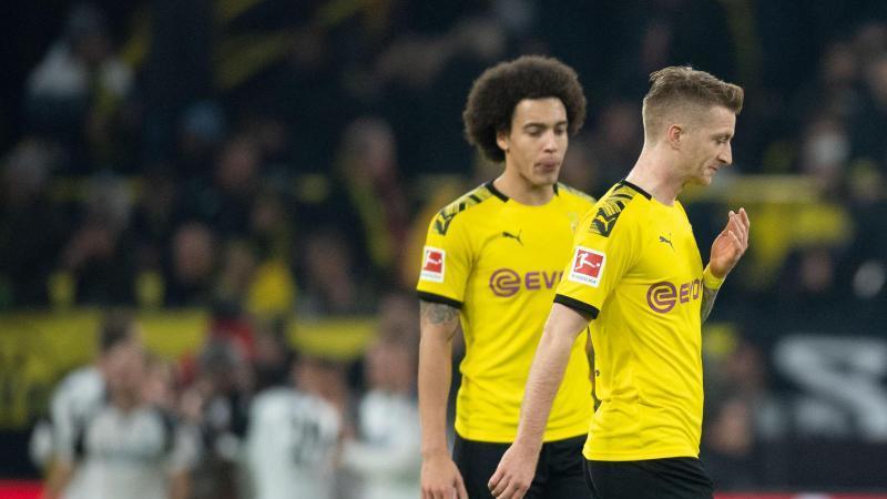 Die Dortmunder kamen über ein 3:3 gegen den SC Paderborn nicht hinaus. Foto: Bernd Thissen/dpa