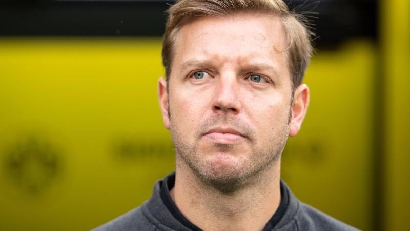 Bremens Trainer Florian Kohfeldt. Foto: Marius Becker/dpa/Archivbild