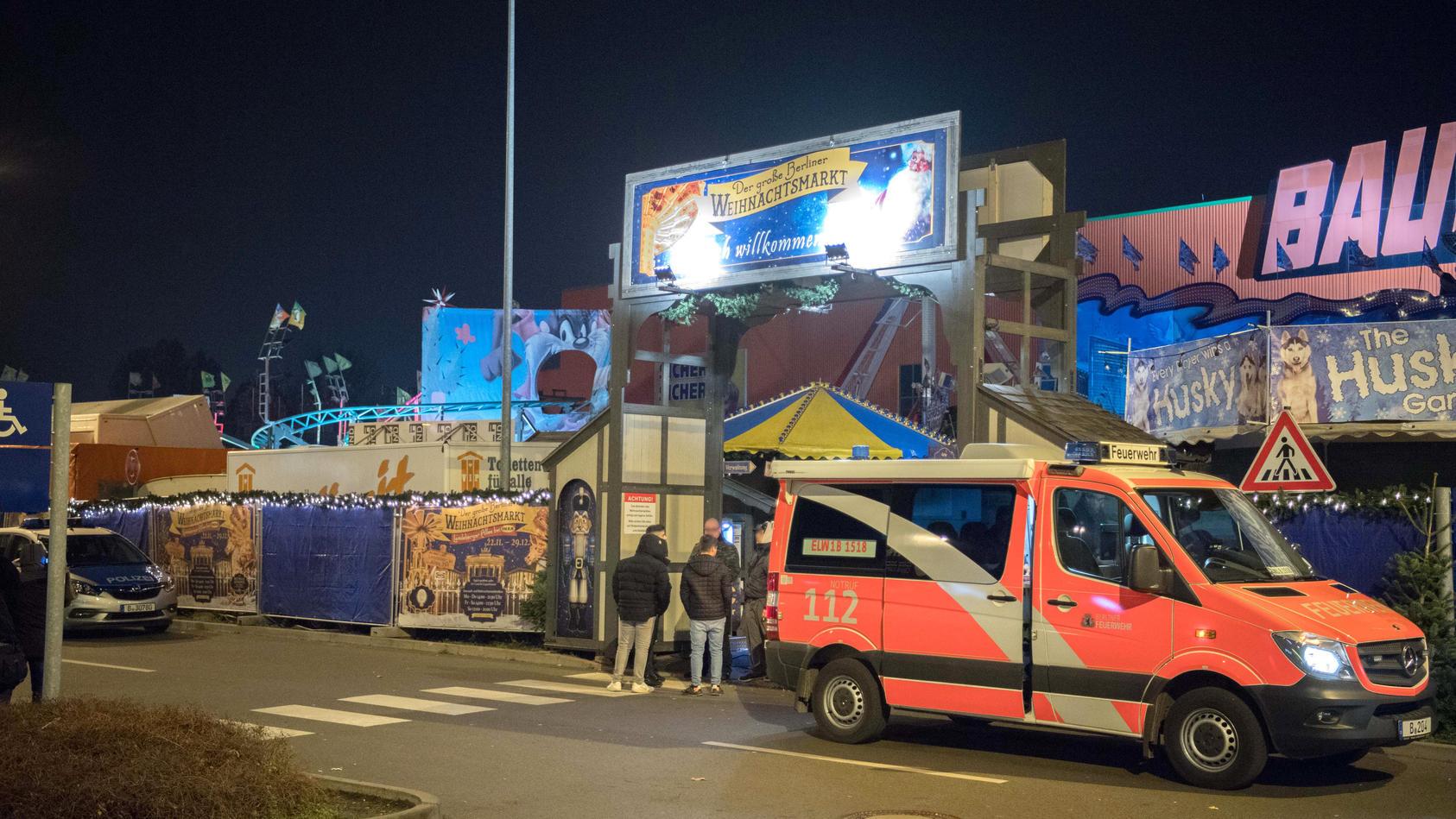 Todesfall auf Weihnachtsmarkt in Berlin
